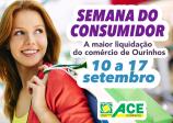 Semana do Consumidor começa neste sábado em Ourinhos