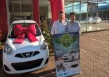 Comércio dará um Nissan March de presente de final de ano