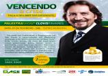 """Palestra show """"Vencendo a Crise"""" será realizada às 8h da manhã no Teatro Municipal"""
