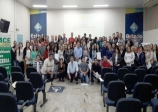 Empresários e colaboradores participam de palestra do SENAC, em parceria com ACE e SEBRAE