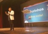 Palestra empresarial com Erik Penna lota teatro municipal em Ourinhos