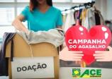 Começa Campanha do Agasalho com apoio do comércio local