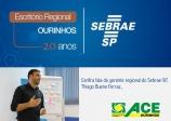 Sebrae celebra 20 anos em Ourinhos com palestra sobre neuromarketing no Teatro