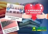 ACE participa da entrega de mais de 35 mil agasalhos a entidades filantrópicas.
