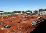 Fundações do prédio da escola do SENAC Ourinhos já foram concluídas