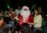 Papai Noel chega nesta quinta-feira para inaugurar decoração da Praça Mello Peixoto