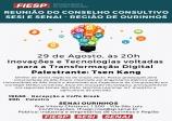 SENAI promove palestra sobre inovações e tecnologia