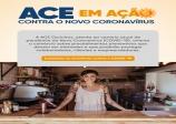 ACE lança informativo ilustrado sobre prevenção ao Novo Coronavírus