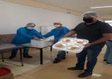 36 MIL REFEIÇÕES - Representantes da FIESP visitam cozinha do SESI e entrega a famílias no Itamaraty