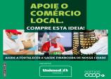 UNIMED lança campanha de apoio ao comércio local