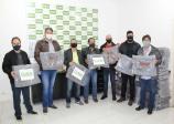 22 entidades receberam mil cobertores arrecadados pela Associação Comercial