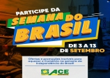 Semana do Brasil começa nesta quinta, 3