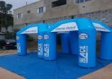 Guarda Mirim recebeu tendas para a Zona Azul doadas pela Associação Comercial