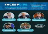 Facesp realiza live nesta quinta para debater a Lei do Contribuinte Legal