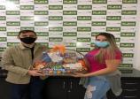 UniFio e ACE Ourinhos divulgaram resultado do sorteio da cesta de chocolates via aplicativo