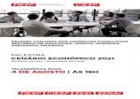 Palestra: Cenário Econômico 2021