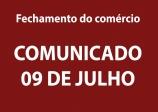 COMUNICADO - 09 DE JULHO